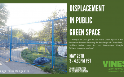 Displacement in Public Green Space Online Event